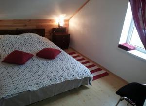 Voodi või voodid majutusasutuse Põnka Guesthouse toas