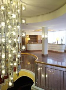 The lobby or reception area at Hotel San Marco