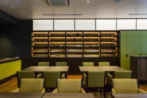 The lounge or bar area at Hotel Ryumeikan Ochanomizu Honten