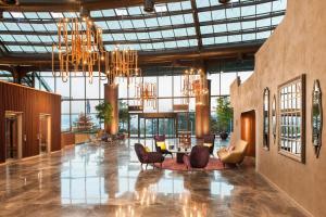 The lobby or reception area at Tasigo Eskisehir