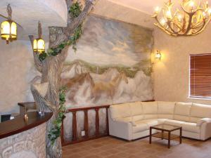 Гостиная зона в Парк Отель