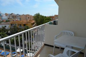 Een balkon of terras bij Linda