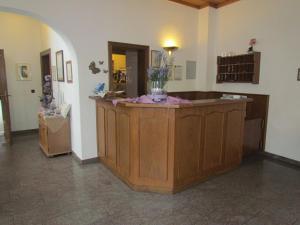 Lobby/Rezeption in der Unterkunft Hotel Zum Erker