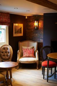 A seating area at Crown and Garter
