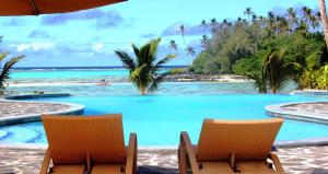 The swimming pool at or near Nautilus Resort