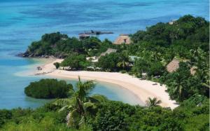 A bird's-eye view of Navutu Stars Resort