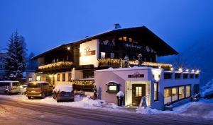 Pension Bellevue im Winter