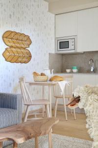 Zona de estar de Artesa Suites & Spa