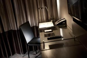 A television and/or entertainment center at Dorsett Singapore (SG Clean)