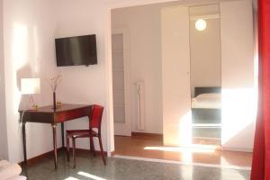 TV o dispositivi per l'intrattenimento presso Apartment Bruno's
