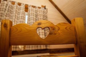 Кровать или кровати в номере Андреев Дом