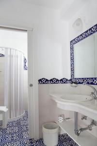 Ванная комната в Hotel La Terrazza