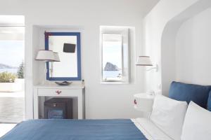 Кровать или кровати в номере Hotel La Terrazza