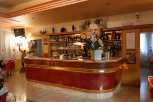 The lounge or bar area at Hotel Belle Arti