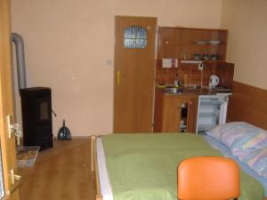 Postel nebo postele na pokoji v ubytování Privat AVE