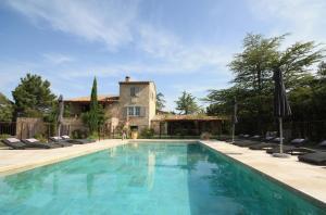 The swimming pool at or near La Bastide de Soubeyras
