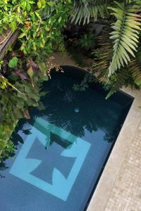 A view of the pool at Hotel Villa Bahia or nearby
