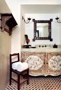 A bathroom at Hotel Villa Bahia
