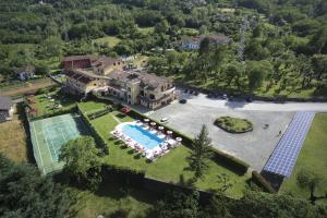 A bird's-eye view of Park Hotel La Pineta