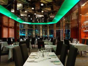 A restaurant or other place to eat at Sunborn London Yacht Hotel