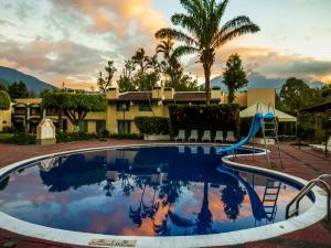 The swimming pool at or near Hotel Soleil La Antigua