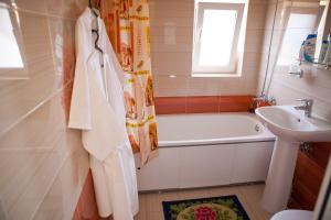 Ванная комната в Гостиница Камелия