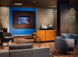 The lobby or reception area at Courtyard by Marriott Orlando Lake Buena Vista in the Marriott Village