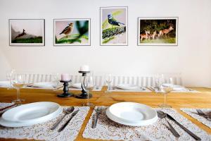 Restauracja lub miejsce do jedzenia w obiekcie Miętowa Dolina