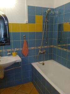 A bathroom at Homestay in Irkutsk