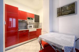 Küche/Küchenzeile in der Unterkunft Apartment Konvikt