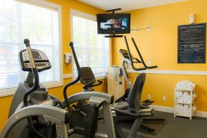 The fitness center and/or fitness facilities at Grand Beach Resort By Diamond Resorts