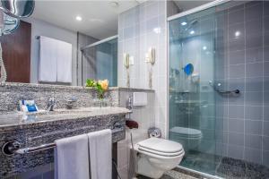 A bathroom at Blue Tree Premium Verbo Divino - Nações Unidas