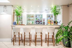 The lounge or bar area at Blue Tree Premium Verbo Divino - Nações Unidas