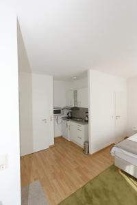 A kitchen or kitchenette at Apartments Stoll