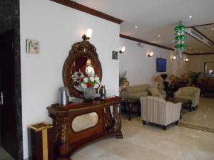 Uma área de estar em Samaya Al Khobar Hotel Apartments