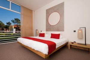 Cama o camas de una habitación en Flag Hotel Miravillas