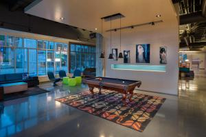 A pool table at Aloft - Tampa Downtown