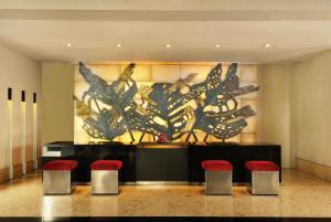 منطقة الاستقبال أو اللوبي في فندق بادما باندونغ