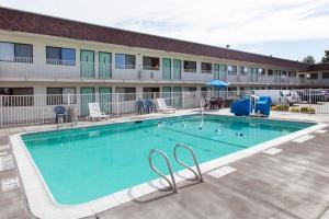The swimming pool at or near Motel 6-Turlock, CA