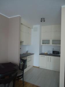 Kuchnia lub aneks kuchenny w obiekcie City Apartment