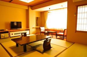 A seating area at Yumotoya
