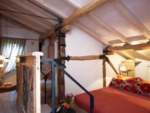 Letto o letti a castello in una camera di Casa Fluò Relais