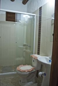 Ванная комната в Casa Aparicio Lopez