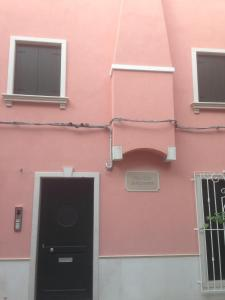 Телевизор и/или развлекательный центр в Palazzo Giacchina