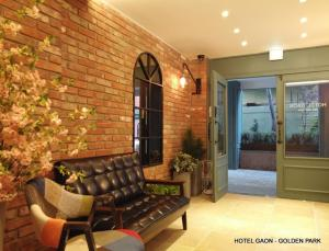 A seating area at Hotel Gaon Golden Park Dongdaemun