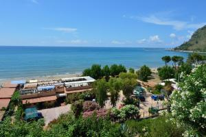 A bird's-eye view of Hotel Acquasanta