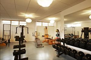 The fitness centre and/or fitness facilities at The Standard Miami