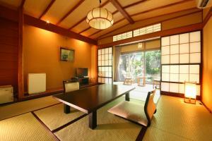 The lobby or reception area at Izumiya Zenbe