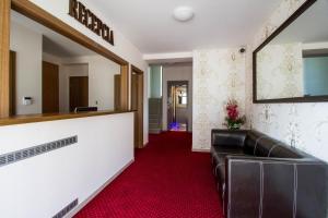 Lobby alebo recepcia v ubytovaní La Pension