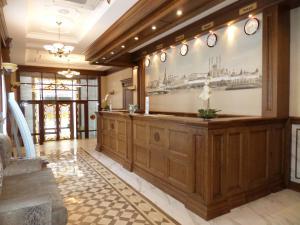 Лобби или стойка регистрации в Отель Европа